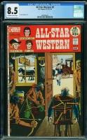 All Star Western #9 CGC 8.5 ow/w