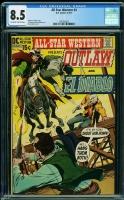 All Star Western #4 CGC 8.5 ow/w
