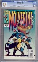 Wolverine #86 CGC 9.9 w