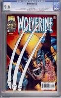 Wolverine #145 CGC 9.6 w Foil Edition