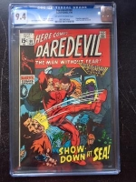 Daredevil #60 CGC 9.4 ow/w