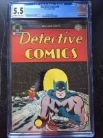 Detective Comics #94 CGC 5.5 ow/w