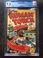 Human Torch #25 CGC 7.5 ow