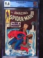 Amazing Spider-Man #52 CGC 9.6 ow/w