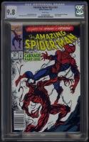 Amazing Spider-Man #361 CGC 9.8 w Newsstand Edition
