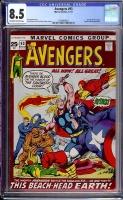 Avengers #93 CGC 8.5 ow/w