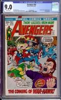 Avengers #98 CGC 9.0 ow