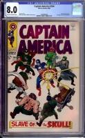 Captain America #104 CGC 8.0 ow/w
