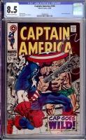 Captain America #106 CGC 8.5 ow/w