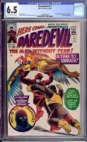 Daredevil #11 CGC 6.5 ow/w