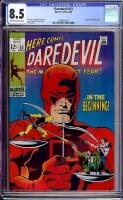 Daredevil #53 CGC 8.5 ow/w