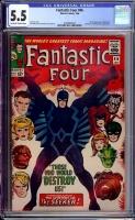 Fantastic Four #46 CGC 5.5 ow/w
