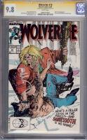 Wolverine #10 CGC 9.8 w CGC Signature SERIES