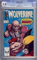 Wolverine #18 CGC 9.8 w