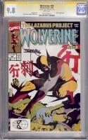 Wolverine #28 CGC 9.8 w CGC Signature SERIES