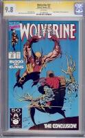 Wolverine #37 CGC 9.8 w CGC Signature SERIES