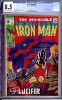 Iron Man #20 CGC 8.5 ow/w