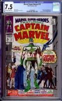 Marvel Super-Heroes #12 CGC 7.5 ow/w