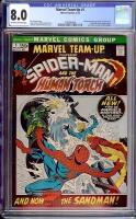 Marvel Team-Up #1 CGC 8.0 ow/w