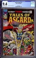 Tales of Asgard #1 CGC 9.4 ow/w