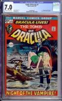 Tomb of Dracula #1 CGC 7.0 ow/w