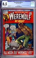 Werewolf By Night #1 CGC 8.5 w