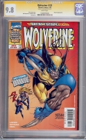 Wolverine #133 CGC 9.8 w CGC Signature SERIES