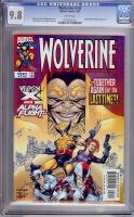 Wolverine #142 CGC 9.8 w