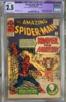 Amazing Spider-Man #15 CGC 2.5 ow/w