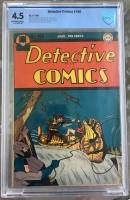 Detective Comics #100 CBCS 4.5 ow/w