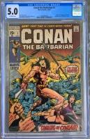 Conan The Barbarian #1 CGC 5.0 ow