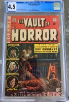 Vault of Horror #31 CGC 4.5 ow/w