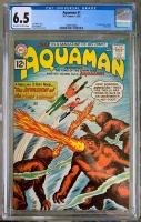 Aquaman #1 CGC 6.5 ow/w