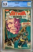 Batman #234 CGC 3.5 ow/w