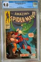 Amazing Spider-Man #49 CGC 9.0 ow/w
