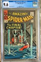 Amazing Spider-Man #33 CGC 9.6 ow/w