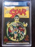 "All Star Comics #33 CGC 8.5 cr/ow Davis Crippen (""D"" Copy)"
