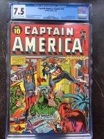 Captain America Comics #10 CGC 7.5 cr/ow