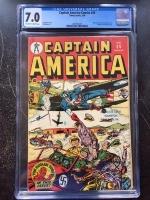 Captain America Comics #36 CGC 7.0 ow/w