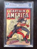 Captain America Comics #59 CBCS 6.5 ow/w