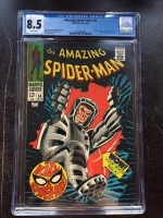 Amazing Spider-Man #58 CGC 8.5 w
