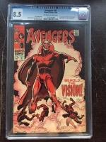 Avengers #57 CGC 8.5 ow/w