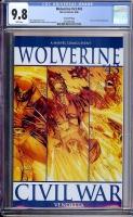 Wolverine Vol 3 #43 CGC 9.8 w Second Printing