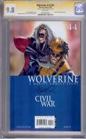 Wolverine Vol 3 #44 CGC 9.8 w CGC Signature SERIES