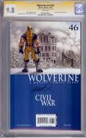 Wolverine Vol 3 #46 CGC 9.8 w CGC Signature SERIES