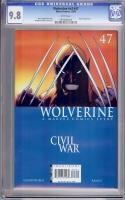 Wolverine Vol 3 #47 CGC 9.8 w