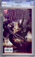 Wolverine Vol 3 #58 CGC 9.8 w Variant Edition