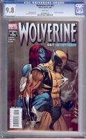 Wolverine Vol 3 #62 CGC 9.8 w