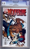 Wolverine Vol 3 #65 CGC 9.8 w
