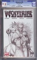 Wolverine Vol 3 #66 CGC 9.8 w Sketch Cover